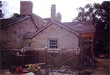 All natural stone residential addition